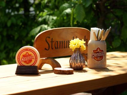 Stammtisch im Canada Biergarten